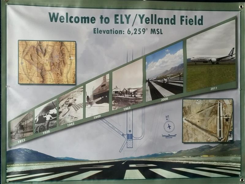 Welcome to ELY / Yelland Field Elevation: 6,259 feet MSL