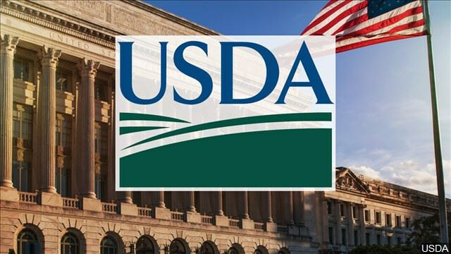Image of USDA logo with White House and American Flag