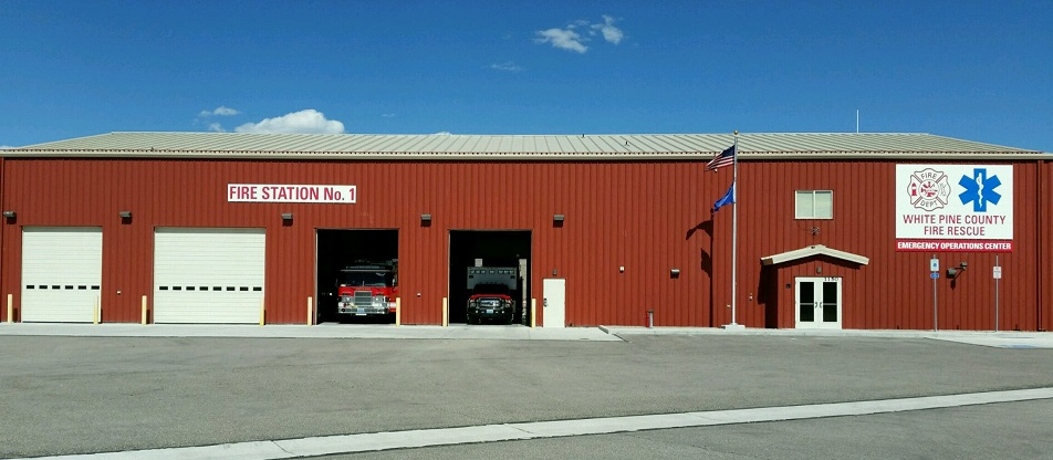 Fire Station 1 in Ely Nevada